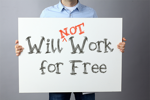will-not-work-for-free